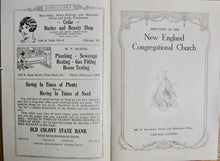 Load image into Gallery viewer, Directory of the New England Congregational Church, 1928, Chicago