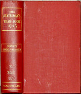 Epstein, M. The Statesman's Year-Book: Statistical and Historical Annual of the States of the Word for the year 1943