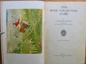 Newton, A. Edward. This Book-Collecting Game