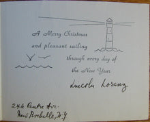 Load image into Gallery viewer, Lorenz, Lincoln. The Life of Sidney Lanier [signed with ALS & Christmas card]