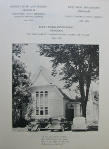 Historical Sketches of the First Congregational Churches in Wauponsee Grove and Mazon