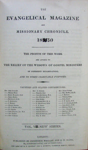 The Evangelical Magazine and Missionary Chronicle 1830