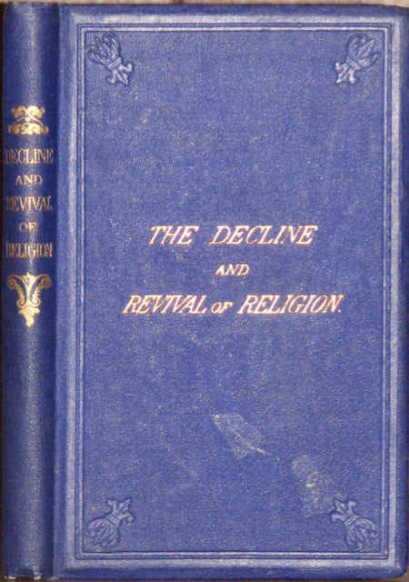 Langley, Christianity Contemplated, Thoughts on the Decline and Revival of Religion 1867