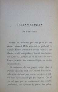 Hello, Ernest. Philosophie et Atheisme (Oeuvres Posthumes) 1888