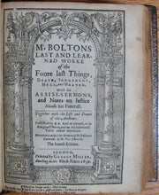 Load image into Gallery viewer, Bolton, Robert. The Workes of the reverend Robert Bolton 1638-40