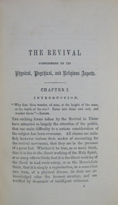 Wilkinson, W. M. The Revival in its Physical, Psychical, and Religious Aspects. 1861