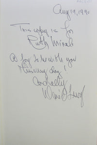 Levy, David.  Potomac Jungle, Signed & Inscribed