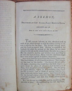 Sanborn & Stevens, Revival Sermons, Newburyport, Massachusetts 1802