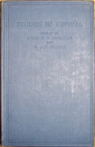 Bardsley, Cyril C. B.; Rogers, T. Guy. Studies in Revival