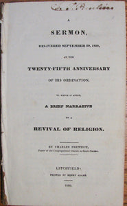 Prentice, Charles. A Brief Narrative of a Revival of Religion in South Canaan, in 1827