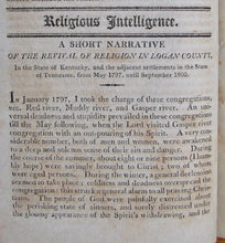 Load image into Gallery viewer, Davis, Cornelius. The New-York Missionary Magazine, and Repository of Religious Intelligence; for the year 1803. Vol. IV.