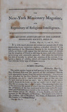 Load image into Gallery viewer, Davis, Cornelius. The New-York Missionary Magazine, and Repository of Religious Intelligence; for the year 1802. Vol. III