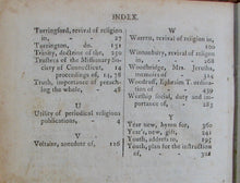 Load image into Gallery viewer, Strong, Nathan. The Connecticut Evangelical Magazine, Volume I. (1800-1801)