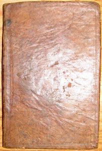 Heidelbergh Catechism.  First American Edition, New York 1764