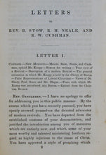Load image into Gallery viewer, Skinner, Otis A. Letters to Rev. B. Stow, R. H. Neale, and R. W. Cushman, on Modern Revivals