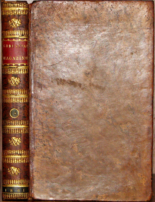 A Society of Ministers. The Christian Magazine; or, Evangelical Repository for 1801