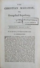 Load image into Gallery viewer, A Society of Ministers. The Christian Magazine; or, Evangelical Repository for 1801