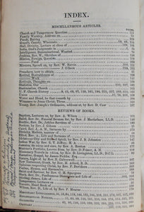 Canadian United Presbyterian Church. The Canadian United Presbyterian Magazine. Vols. V. & VI. 1858-1859
