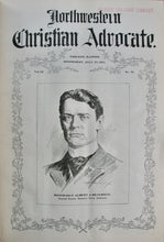 Load image into Gallery viewer, Northwestern Christian Advocate, Vol. 51, July 1, 1903 - December 30, 1903. 52 issues bound