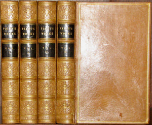 Paley, William. The Works of William Paley, D.D. A New Edition, in four volumes