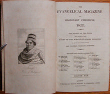 Load image into Gallery viewer, Arundel, John; et al. The Evangelical Magazine and Missionary Chronicle. 1822