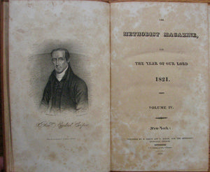 The Methodist Magazine, for the year of our Lord 1821. Volume IV.