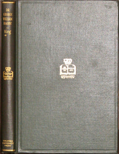 King, Joseph Leonard, Jr. Dr. George William Bagby: A Study of Virginian Literature, 1850-1880