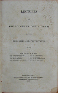 Noel, B. W.; Jerram, Charles; et al. Lectures on the Points in Controversy between Romanists and Protestants