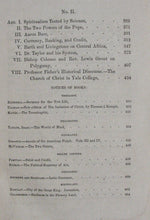 Load image into Gallery viewer, Kingsley, William L. The New Englander: Volume XVI, 1858 [revival interest]