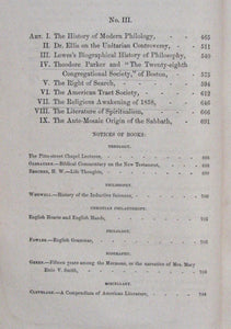 Kingsley, William L. The New Englander: Volume XVI, 1858 [revival interest]