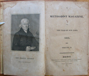 Methodist Episcopal Church. The Methodist Magazine, for the year of our Lord 1818. Volume I.