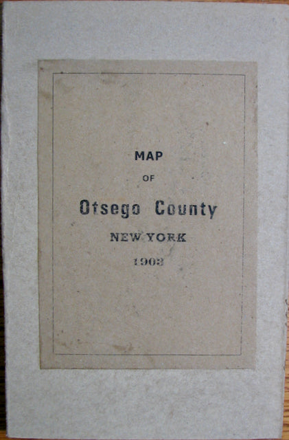 1903 Map of Otsego County, New York