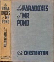 Load image into Gallery viewer, Chesterton, G. K. The Paradoxes of Mr. Pond