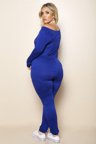 Honestly Royal blue Jumpsuit