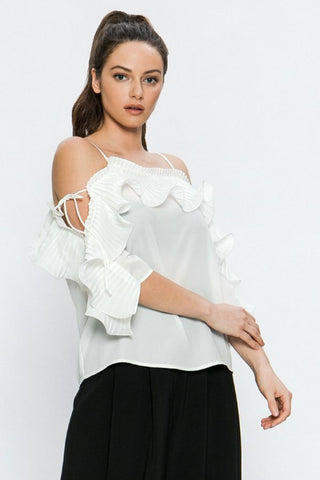 Isabella White Top