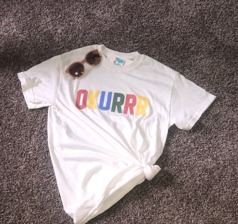 Okurr White T-shirt Plus Sizes