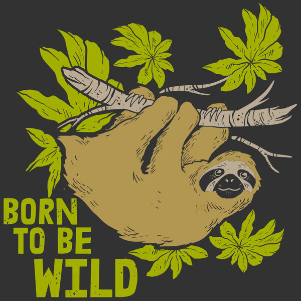Born to be Wild - Youth - Graphite Heather