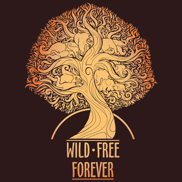 Wild & Free Forever - Adult - Heavy Metal