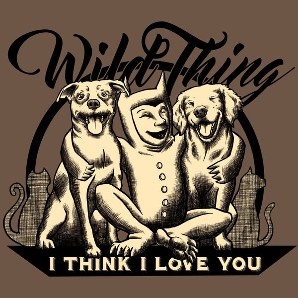 Wild Thing, I Think I Love You - Ladies Classic Tee - Charity Pink