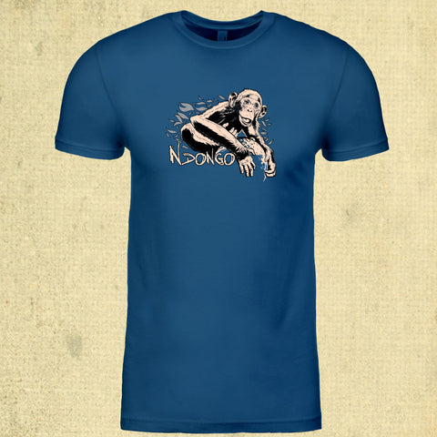Ape Action Africa - Adult - Cool Blue