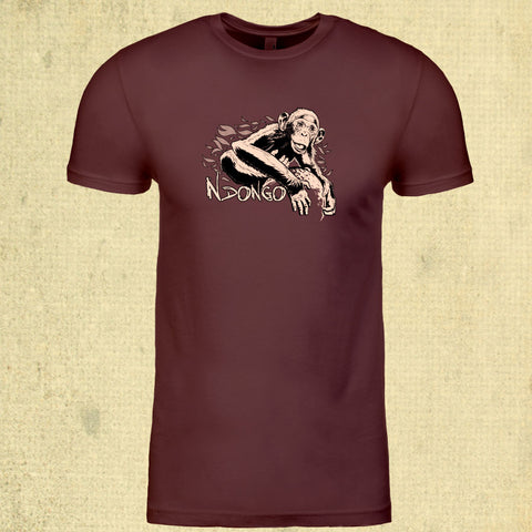 Ape Action Africa - Adult - Maroon