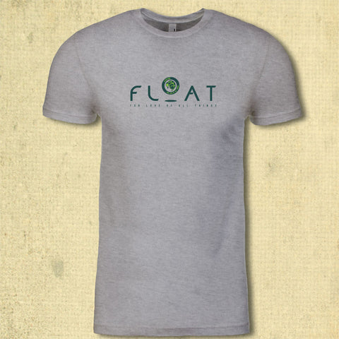 "FLOAT Logo Tee 7"" - Adult - Heather Gray"