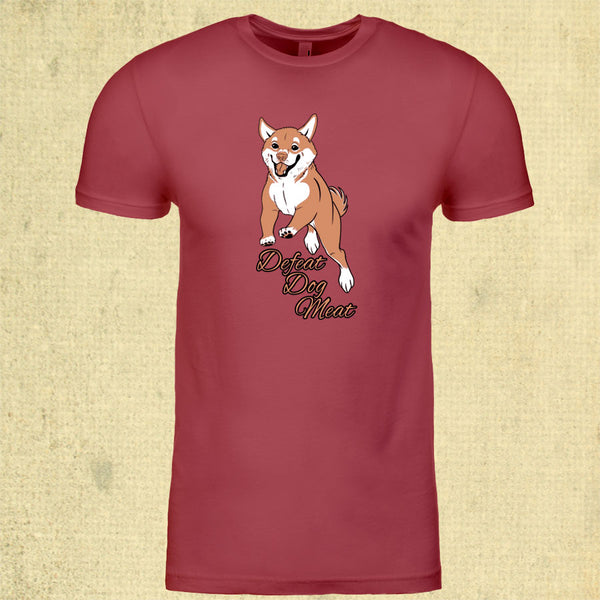 Defeat Dog Meat - Adult - Cardinal Red