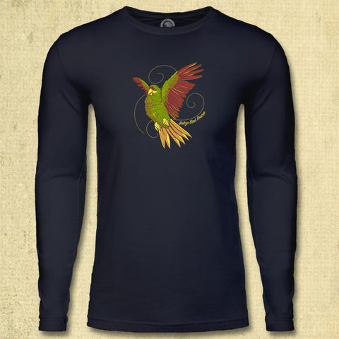 Belize Bird Rescue - Adult Long Sleeve - Midnight Navy