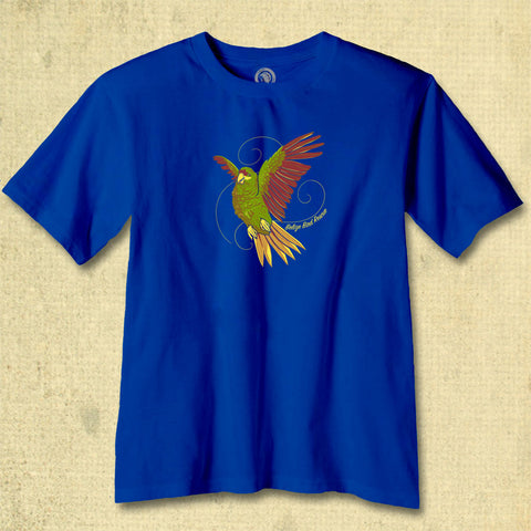 Belize Bird Rescue - Youth - Neon Blue