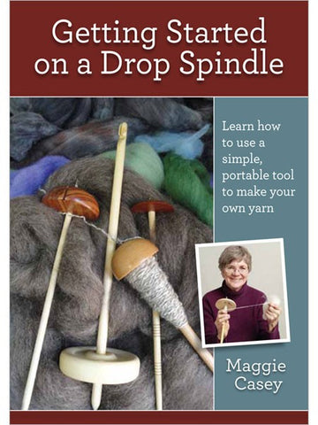 Getting Started on a Drop Spindle DVD