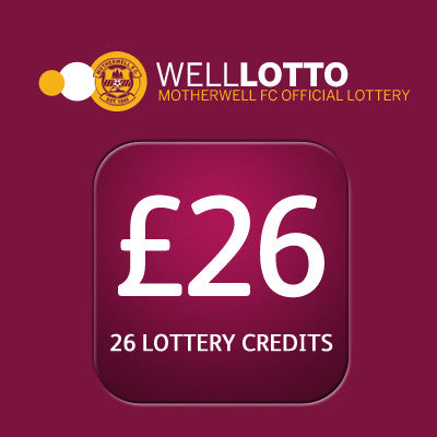 26 week entry to 'Well Lotto