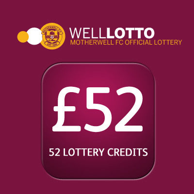 52 week entry to 'Well Lotto