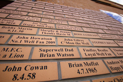 Buy a personalised brick