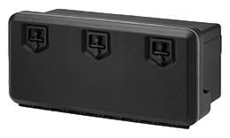 1000mm Black Plastic Toolbox